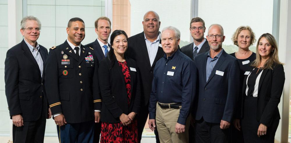 Concussion Center Advisory Board Group photo